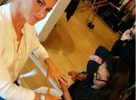 Fiorella Mattheis volta a fazer as unhas e passar rímel: 'Após um mês!'. Vídeo