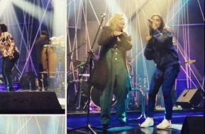 Anitta canta e dança música 'Cavalo Manco' com Joelma em ensaio. Veja vídeo!