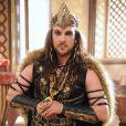Rei Marek (Igor Rickli) é o soberano de Jericó. Um rei desprezível e vaidoso, na novela 'A Terra Prometida'