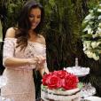 Mariana Rios completará 31 anos na próxima segunda-feira, 04 de julho de 2016, mas já ganhou festa de aniversário antecipada nesta quinta-feira, 30 de junho de 2016