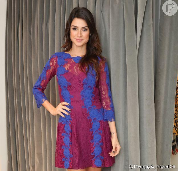 Thaila Ayala comparece a coquetel da estilista Lethicia Bronstein, em Ipanema, no Rio, em 6 de novembro de 2013
