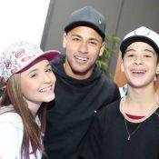Larissa Manoela tieta Neymar em festa de youtuber em SP: 'Incrível'. Vídeo!