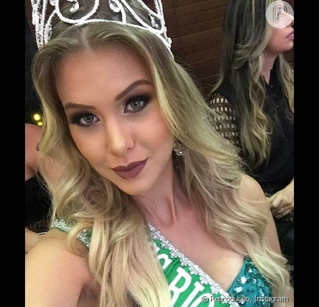 Manoela Alves, a nova namorada de Luan Santana, é Miss Rio Grande do Norte 2015