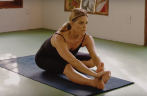 Fernanda Lima mostra flexibilidade em aula de ioga: 'Mergulhada há 15 anos'