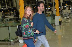 Marina Ruy Barbosa embarca para viagem de férias à Tailândia com namorado