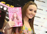 Larissa Manoela leva multidão ao lançamento de livro no Rio. 'Perto dos fãs'