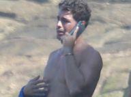 Cauã Reymond chora na praia ao saber que câncer de tia virou metástase