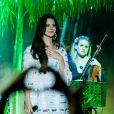 Lana Del Rey lotou o Chevrolet Hall, em Belo Horizonte, em sua primeira apresentação no Brasil