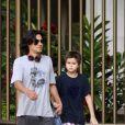 André é pai de Arthur, de 12 anos, que teve com Myrian Rios