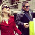 Ingrid Guimarães e Leandro Hassum conversaram nas ruas de Nova York