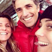 Reynaldo Gianecchini comemora aniversário em NY: 'Com as amigas queridas'