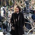 Colin Farrell estava filmando no Brooklyn, bairro da cidade de Nova Iorque