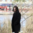 Colin Farrell no set de filmagens de 'Winter's tale'