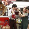 Mateus Solano e Elizabeth Savalla gravam 'Amor à Vida'