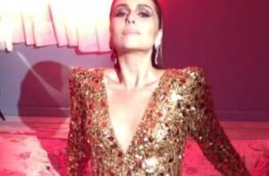 Giovanna Antonelli posa sensual com look decotado em ensaio fotográfico
