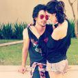 Fiuk e Sophia assumiram o namoro em abril de 2013 e gostavam de exibir o romance no Instagram até o primeiro rompimento