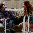 Natasha (Sophia Abrahão) diz a Thales (Ricardo Tozzi) que os dois não poderão ficar juntos enquanto ele estiver com Leila (Fernanda Machado), em 'Amor à Vida'