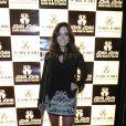Giovanna Lancellotti participa de evento da loja John John,