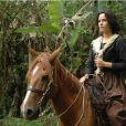 Ana Paula Arósio é a protagonista do filme 'Anita e Garibaldi'