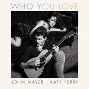 John Mayer divulga capa do single 'Who You Love', gravado com Katy Perry