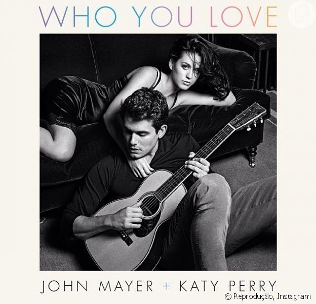 John Mayer e Katy Perry fazem dueto na canção 'Who you love', em 3 de dezembro de 2013