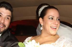 Silvia Abravanel, filha de Silvio Santos, se casa com cantor sertanejo em SP