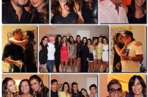 Paula Morais exibe detalhes da festa de noivado com Ronaldo: 'Te amo demais!'