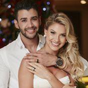 Gusttavo Lima e Andressa Suita celebram casamento no interior de MG. Vídeo!