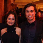 Amanda de Godoi e namorado, Francisco Vitti, vão juntos em prêmio no RJ. Fotos!