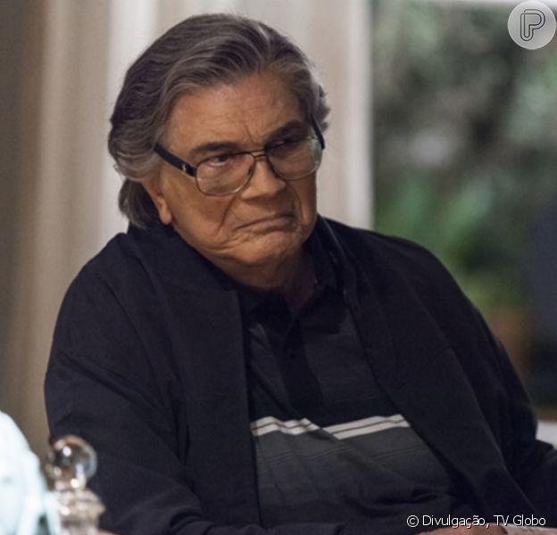 Tecnologia usada pela Globo para rejuvenescer Tarcísio Meira na primeira fase da novela 'A Lei do Amor' é criticada nas redes sociais