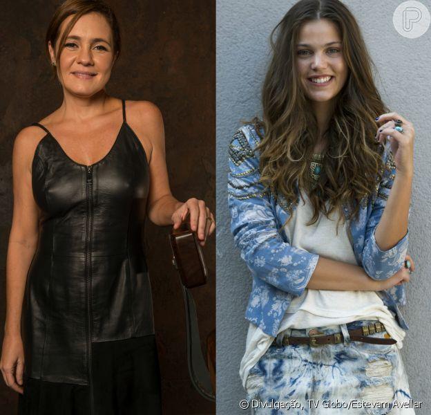 Adriana Esteves e Pâmela Tomé vão dividir o papel de uma das protagonistas da novela das onze 'Jogo da Memória', com estreia prevista para abril de 2017