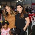 Sophie Charlotte participa de festa do Dia das Crianças em orfanato do Rio neste sábado, dia 08 de outubro de 2016