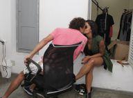 Aline Riscado beija o namorado, Felipe Roque, de 'Malhação,' em ensaio. Fotos!