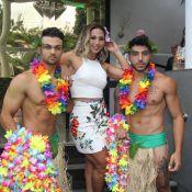Valesca Popozuda festeja aniversário de 38 anos com tema havaiano. Veja Fotos!