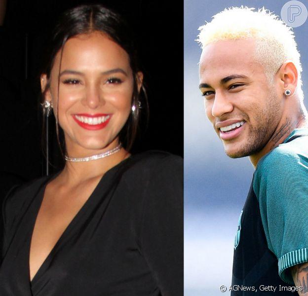 Bruna Marquezine e Neymar foram vistos juntinhos jantando em um hotel em São Paulo no sábado, 8 de outubro de 2016