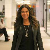 Giovanna Antonelli admite fobia de avião: 'Tenho pavor de voar, desde criança'