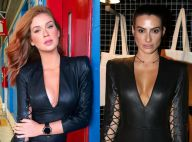 Marina Ruy Barbosa repete macacão preto sexy usado por Cleo Pires. Compare!