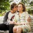 Joana Fomm é avó de Gabriel (Felipe Roque) em 'Malhação: Pro Dia Nascer Feliz'