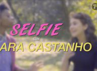 Klara Castanho ensina selfie arrasadora: 'Cabelo ajuda a afinar rosto'. Vídeo!
