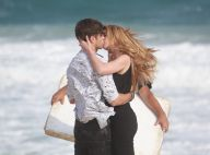 Alinne Moraes e Rafael Vitti trocam beijos ao gravar novela 'Rock Story'. Fotos!