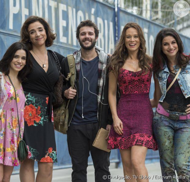 Novela 'Haja Coração': Carmela (Chandelly Braz) se reaproxima da mãe, Francesca (Marisa Orth), e pede perdão por maldades. 'Queria carinho'