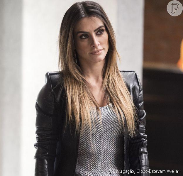 O batom nude e o maiô usado por Tamara, personagem de Cleo Pires na novela 'Haja Coração', são os itens mais pedidos da TV Globo