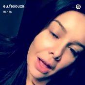 Fernanda Souza fez cirurgia de redução dos seios: 'Saúde para viver'. Vídeo!
