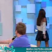 Catarina Migliorini abandona 'Superpop' ao vivo: 'Quis ir ao banheiro'
