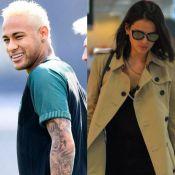 Neymar usa mesmo modelo de óculos de Bruna Marquezine ao chegar para jogo