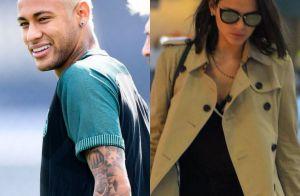 Neymar usa mesmo modelo de óculos de Bruna Marquezine ao chegar para jogo 01e2027463