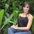 Anitta  está com a bola cheia.  Depois de ser convidada para cantar com o rapper americano Pitbull, ela participou da coletiva de imprensa sobre o novo programa da TV Globo, 'Sai do Chão', nesta terça-feira, 17 de dezembro de 2013, no Projac