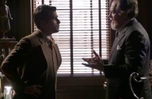 'Joia Rara': Ernest conta para Franz (Bruno Gagliasso) que é pai de Manfred