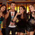 Anitta participou da novela 'Amor à Vida' e cantou 'Meiga e Abusada'