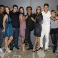 Reginaldo Rossi ao lado do elenco do 'Dança dos Famosos'